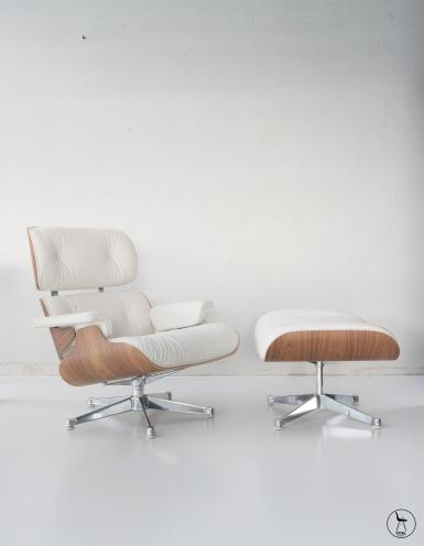 vitra eames lounge chair wit klassieke maat-11
